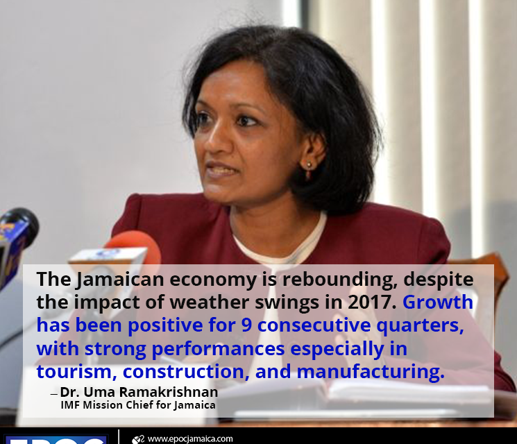 IMF Staff Concludes Visit to Jamaica to Discuss Progress of Economic Program