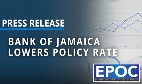 Bank Of Jamaica Lowers Policy Rate