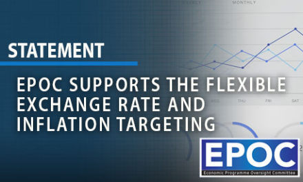 EPOC Supports the Flexible Exchange Rate and Inflation Targeting