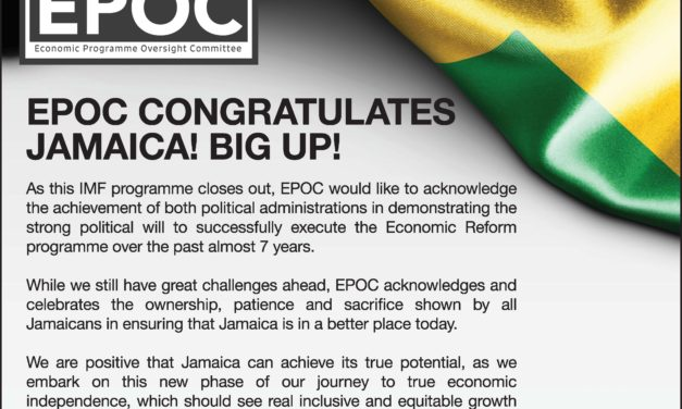 EPOC Congratulates Jamaica! BIG UP!