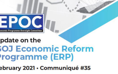 February 2021: Update on the GOJ Economic Reform Programme (ERP)